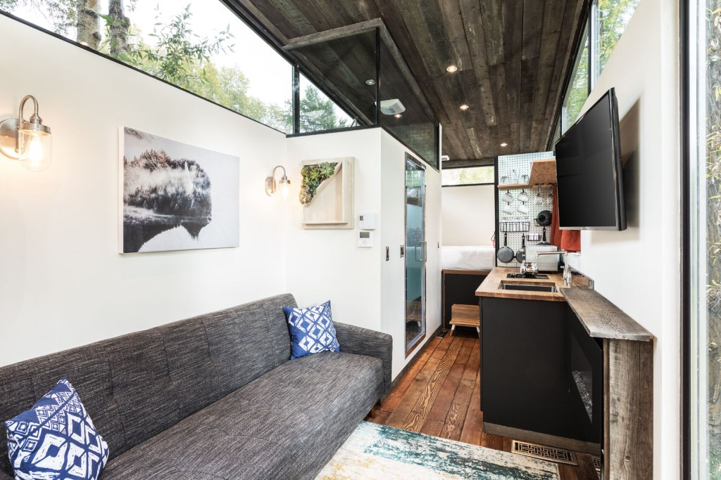 Inside the Wheelhaus RoadHaus Wedge RV