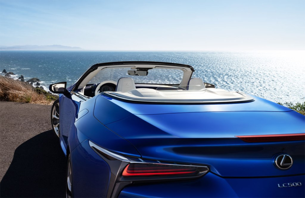 Lexus LC Convertible is an Ideal Car For Wind In The Hair Driving