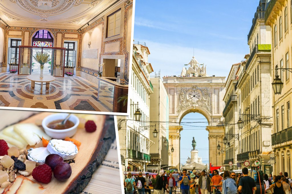 48 hours in the Portuguese capital of Lisbon