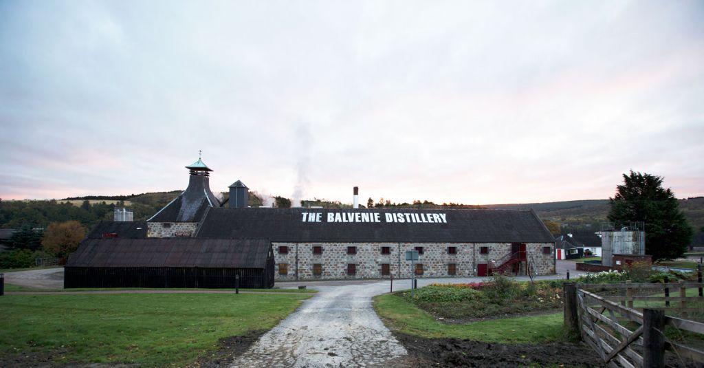 Balvenie Distillery exterior
