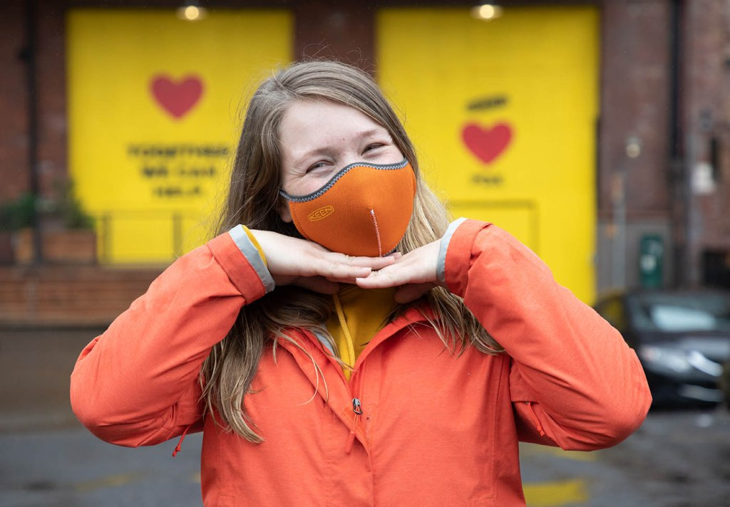 KEEN Launches Washable and Reusable Range of Face Masks