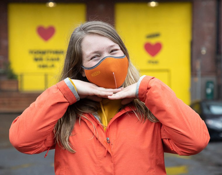 KEEN Launches Face Masks That are Recycled, Reusable and Washable