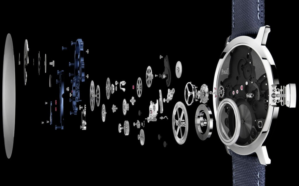 Piaget Altiplano Ultimate Concept components