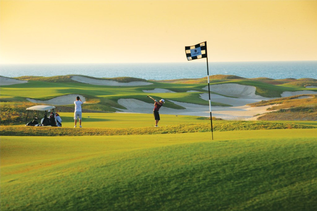 Saadiyat Beach Golf Club in Abu Dhabi