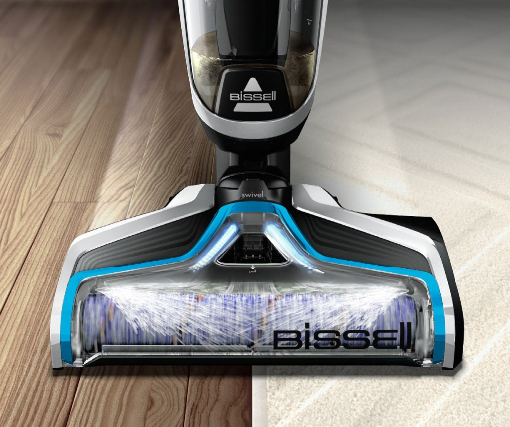 Simple multi floor cleaning with the Bissell Crosswave Cordless