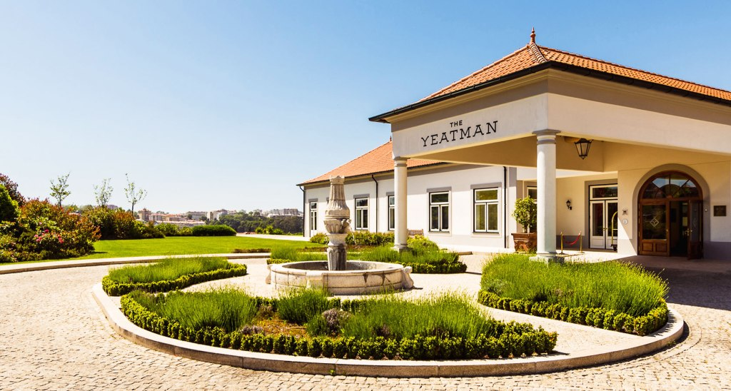 The Entrance to The Yeatman in Porto