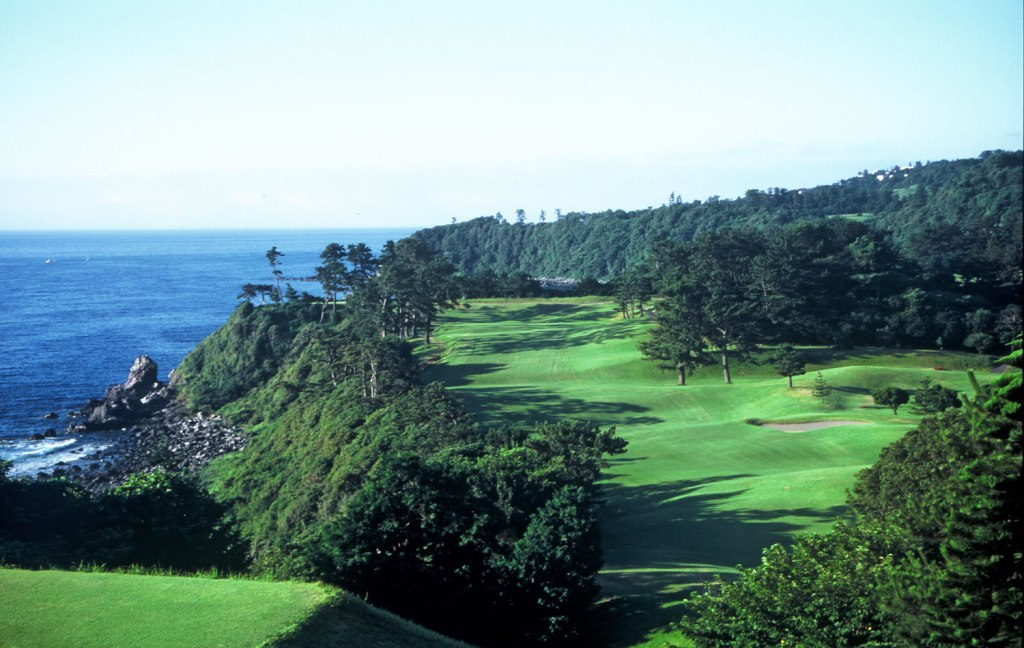The golf courses at Prince Kawana Hotel in Japan