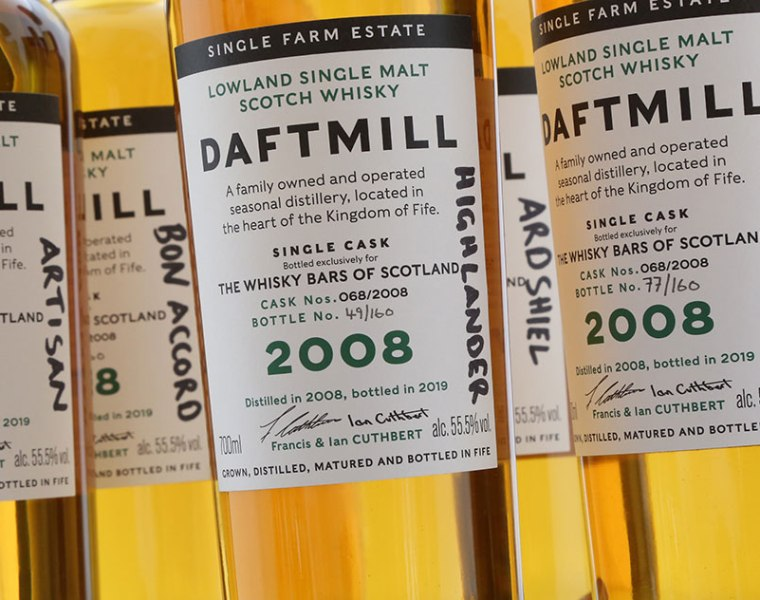 Whisky Auctioneer Raises £35k Through Daftmill Distillery Auction