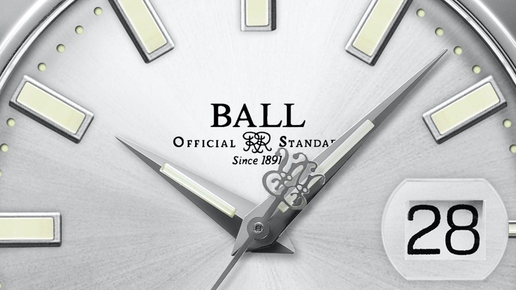Ball Watch Engineer III Marvelight Chronometer dial
