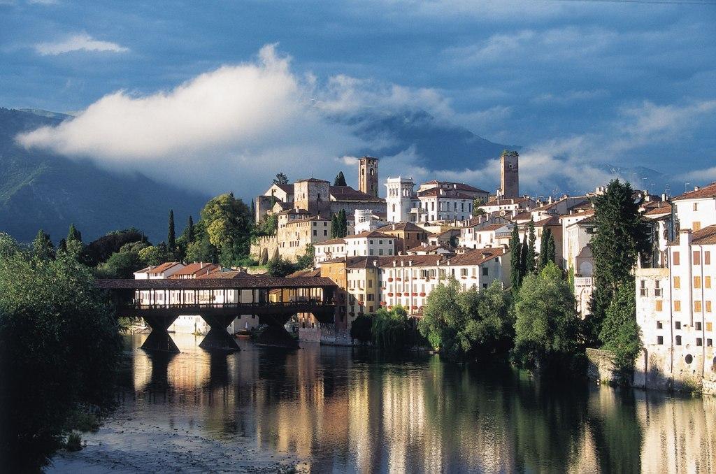 Bassano del Grappa in Italy