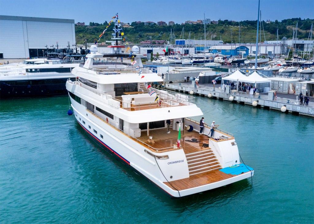 Crowbridge is a 42-metre custom explorer yacht