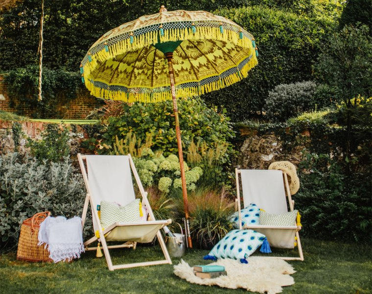 The parasols are priced between £320-£799