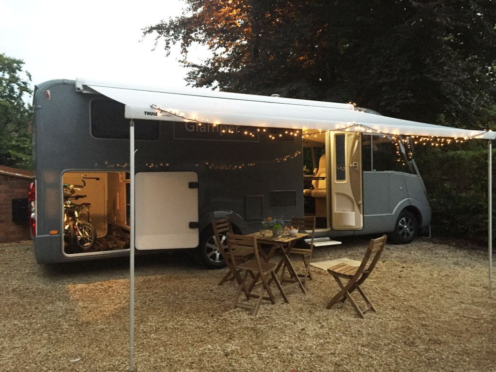 The GlamperRV Business mobile office is ideal for vacations