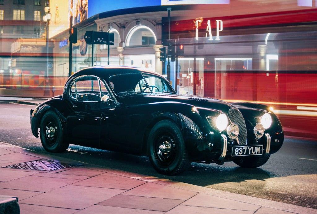Lunaz Jaguar XK120 coupe