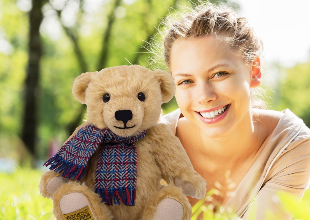 Merrythought James Teddy Bear for SSAFA