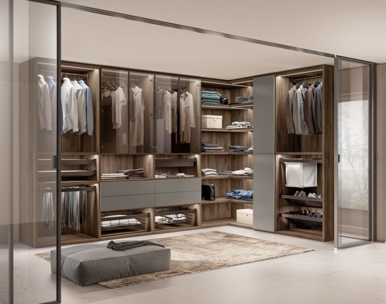Scavolini Unveils its New Modular Walk-in Wardrobe System