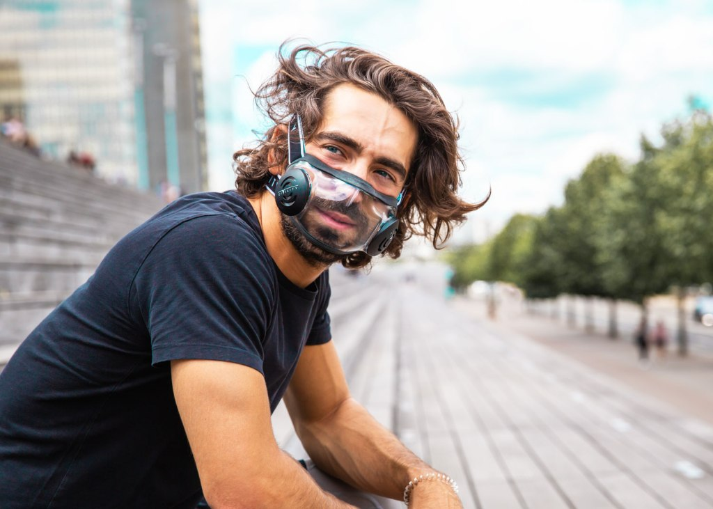 See-thru face mask Civility Mask