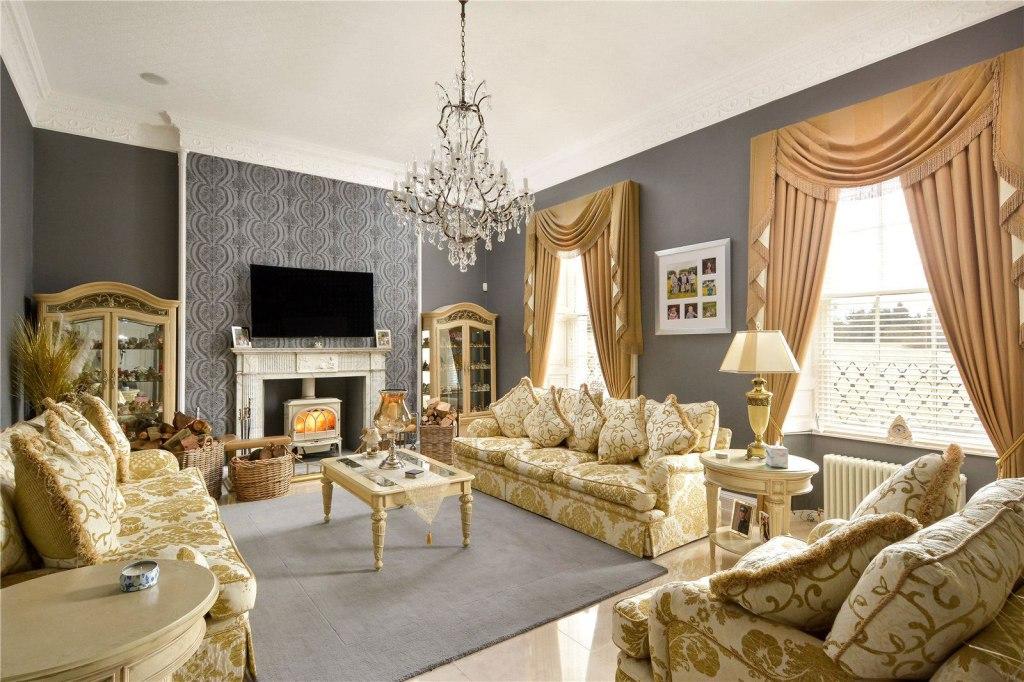 Straloch House Estate living room