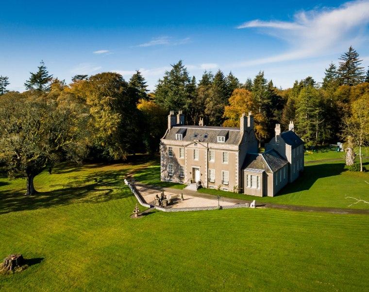 Straloch House Estate nr Aberdeen Scotland