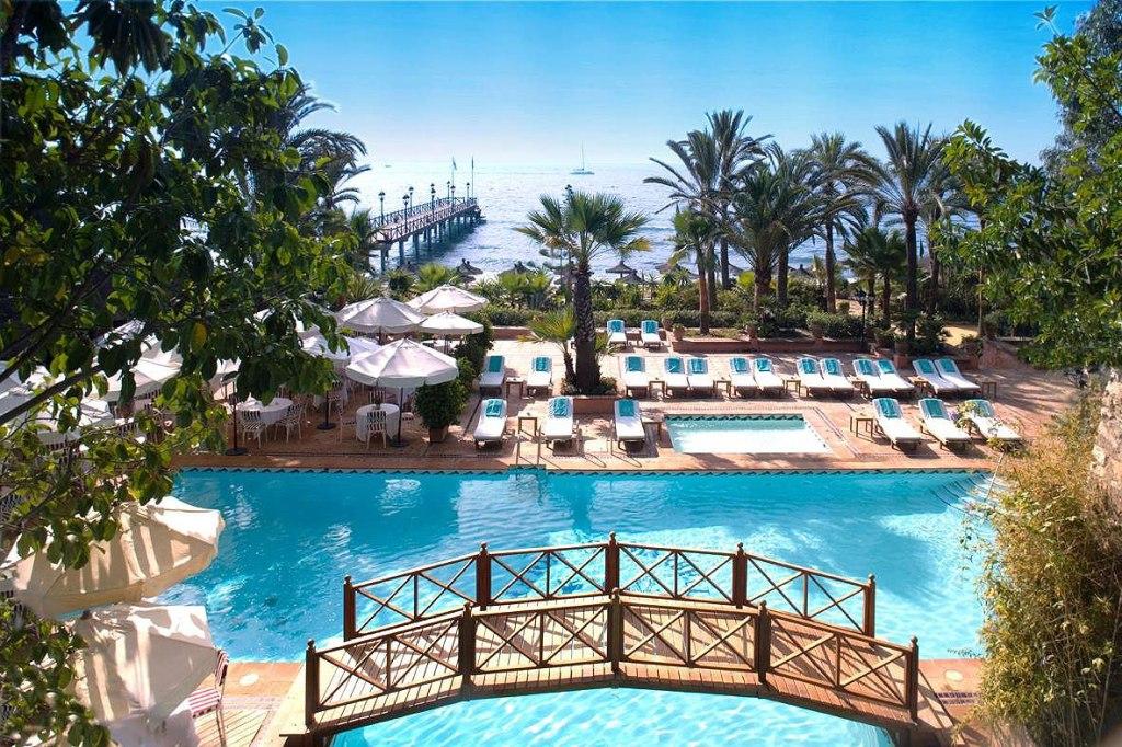 Swimming pool at the Marbella Club