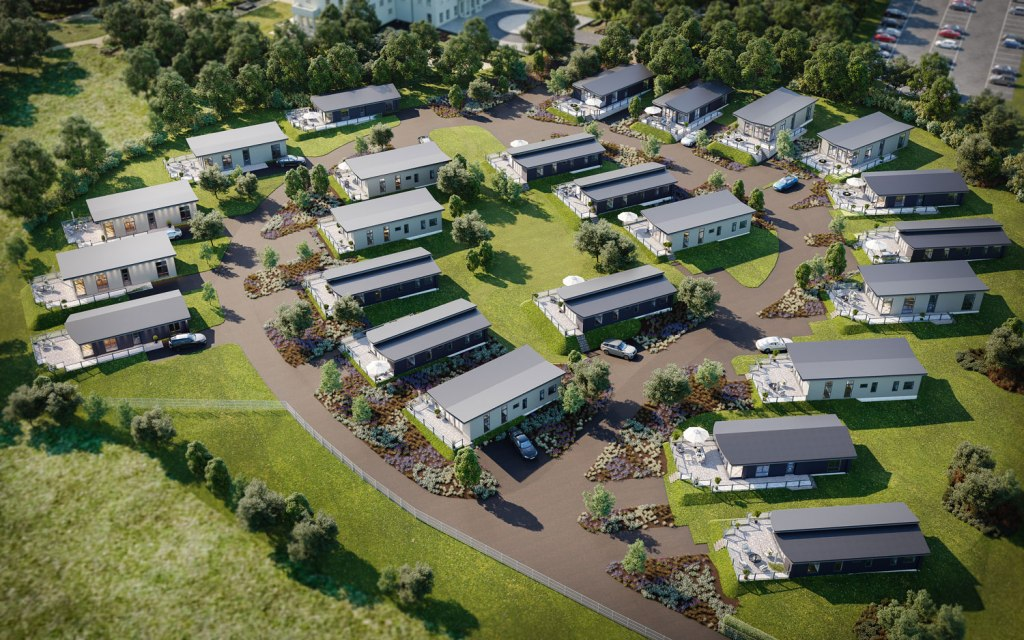 24 luxury lodge Residences at Seaham Hall