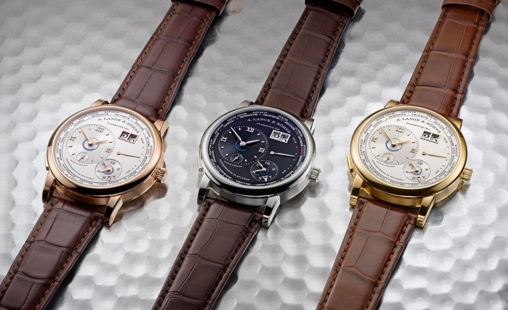 A Lange & Sohne 1 Lange Time Zone case styles