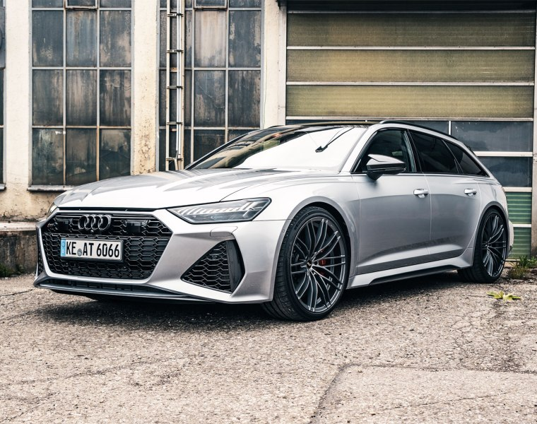 ABT Sportsline Increases the RS6's Power, Sound and Stability