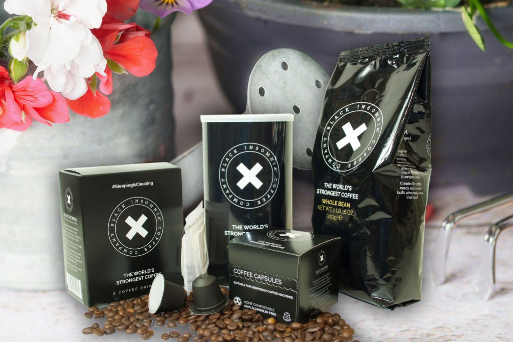 The Black Insomnia 100% Compostable Coffee Pods