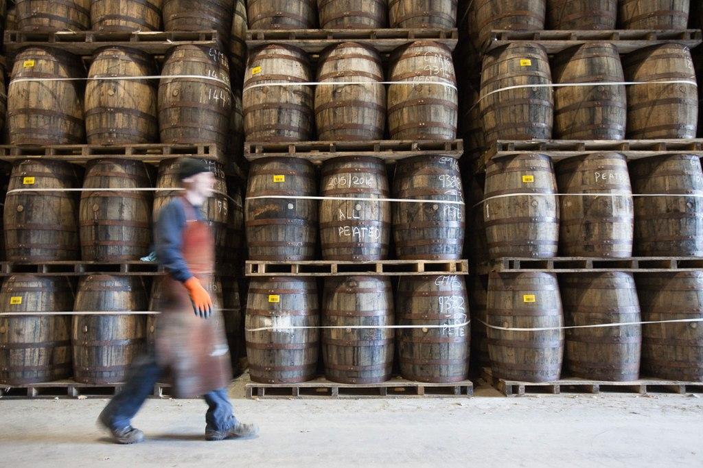 Glen Moray whisky casks