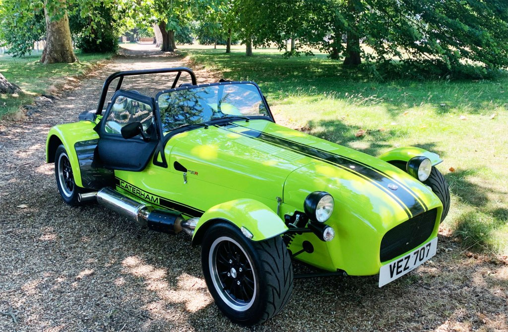 Caterham 270R Gives You Plenty of Smiles with Every Mile
