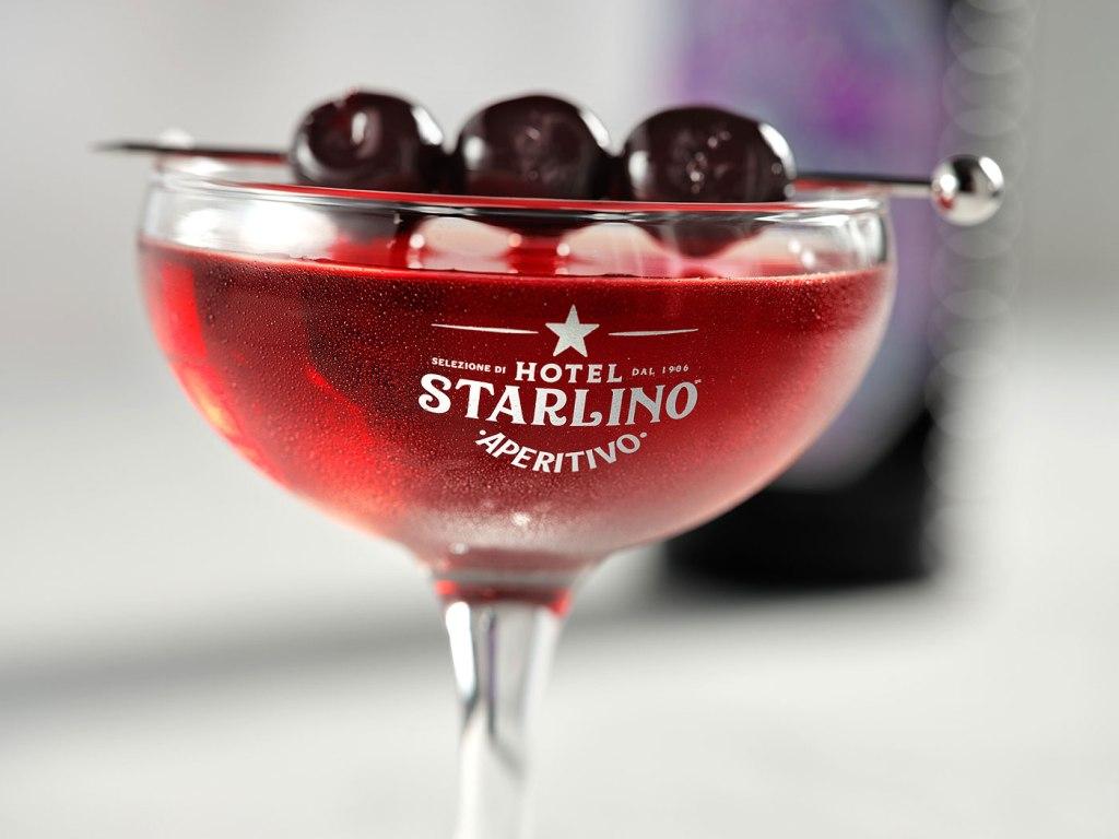 Hotel Starlino Aperitivo in a glass