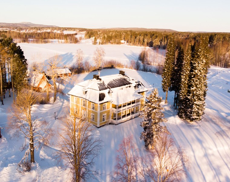 Sweden's Melderstin Manor is the Ideal Place to Escape the World