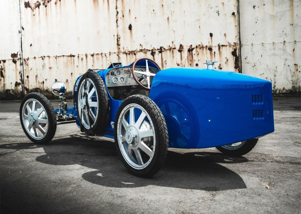 Rear view of the Bugatti Baby II