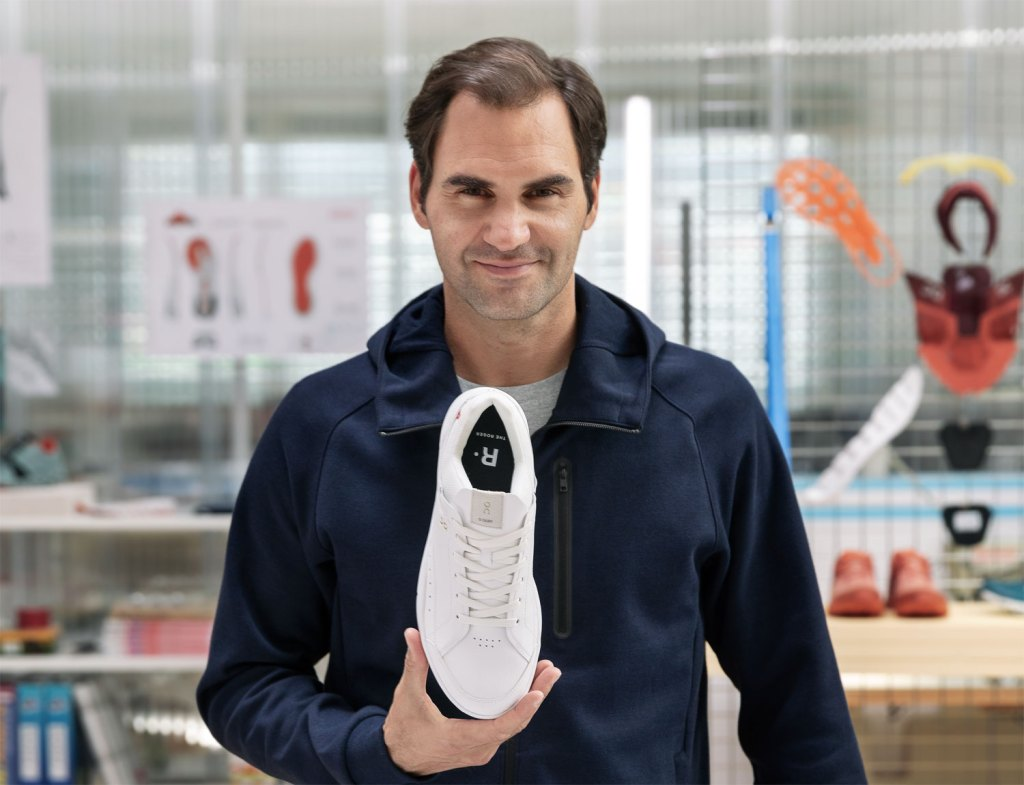 """On and Roger Federer Reveal """"THE ROGER"""" – A Tennis-Inspired Trainer"""