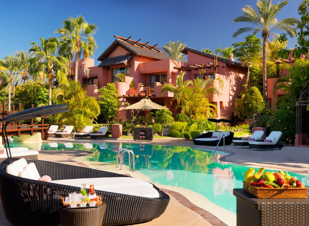 Tagor adult-only villas with the exclusive swimming pool