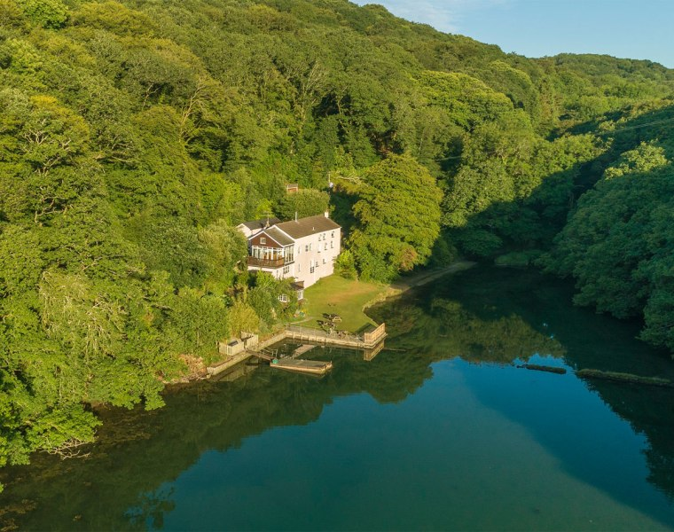 The Old Sawmills in Cornwall is A Property to Make Your Heart Sing