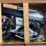 A Pristine Still Crated 1977 Norton Commando 850 To Be Auctioned