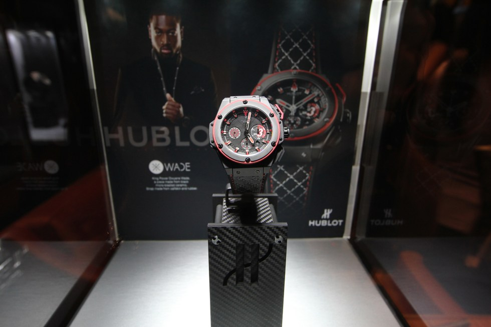 Dwayne Wade Hublot Watch