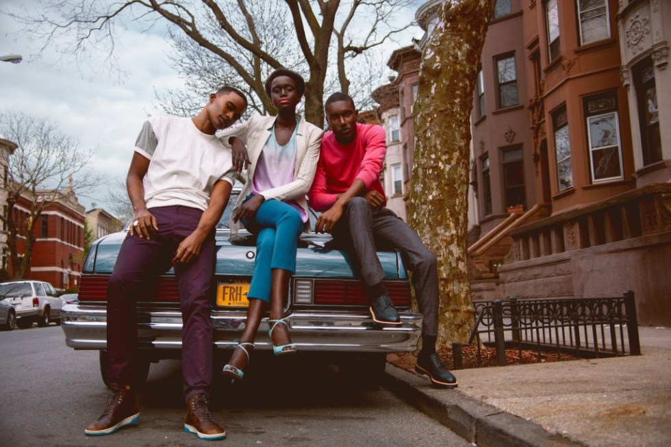 The New Band Fashion Editorial on Luxuriousprototype