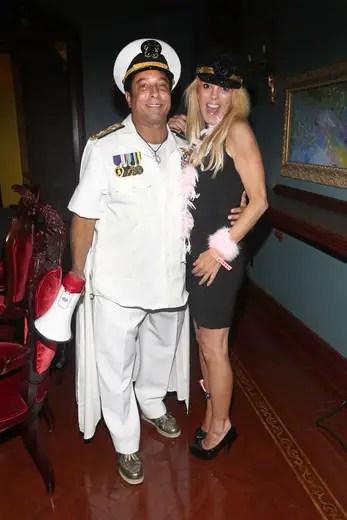 Sir Ivan and Dina Lohan