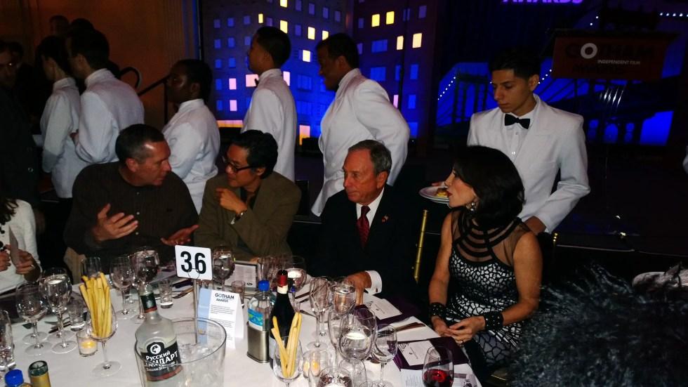 Mayor Bloomberg at the 2013 Gotham Awards