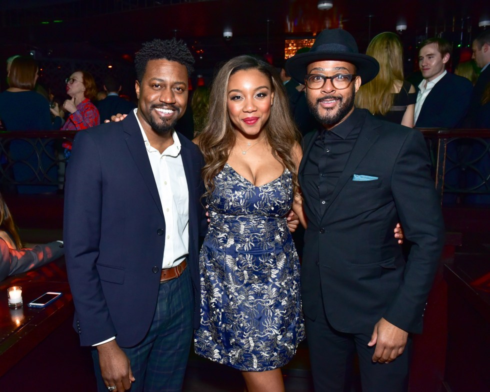 Phaon Spurlock, Arielle Patrick and Curtis Young