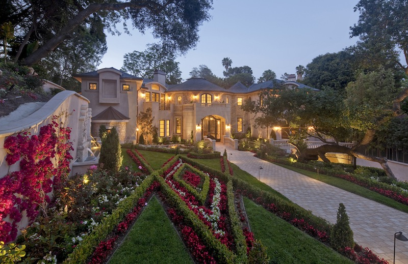 This World Class French Style Bel Air Mansion Is An