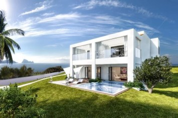 """LIM 7Pines Apartment Rueckseite - Escape to Paradise – Neues Luxusresort """"7 Pines"""" auf Ibiza"""