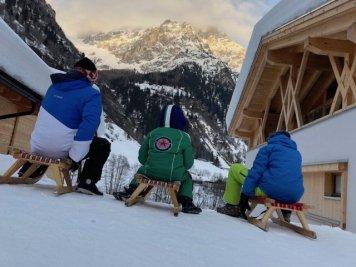 Feuerstein Family Resort Brenner schlittenfahren 2 - Feuerstein Family Resort am Brenner in Südtirol - Entspannter Luxus