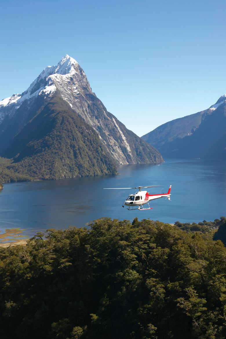 Milford Sound via Helicopter
