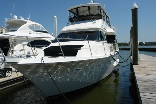 1991 Viking 55 Widebody Motor Yacht Boats Yachts For Sale