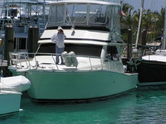 1992 Viking 38 Convertible Inside Helm Boats Yachts For Sale