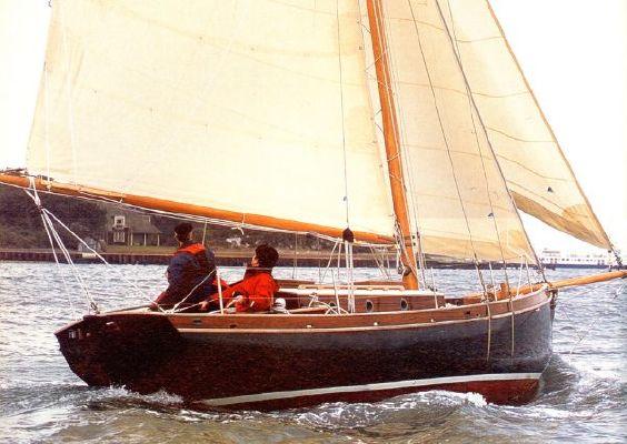 2001 Ed Burnett 30 Ft Gaff Cutter 2001 Boats Yachts For Sale