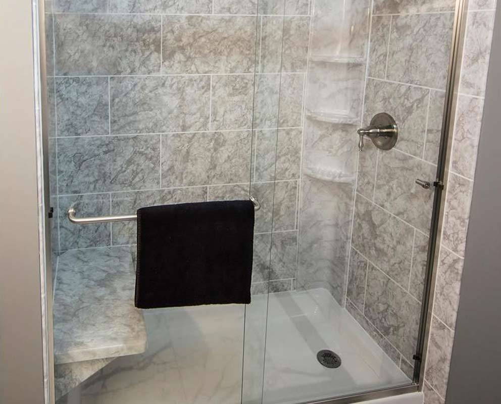 Tub To Shower Conversion Convert Bath To Shower Luxury